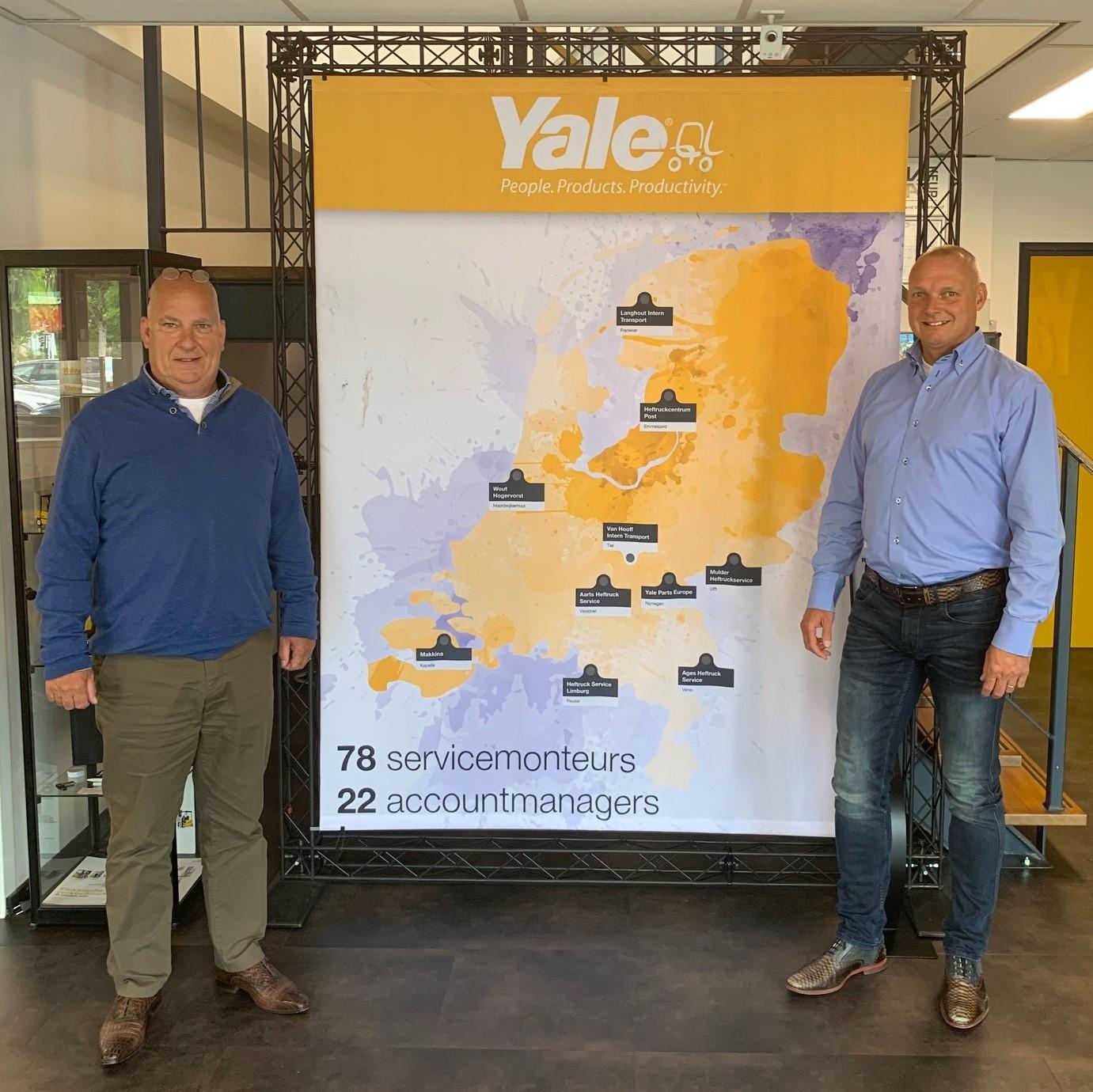 Peter van Popering en Twan de Haan van Yale Nederland